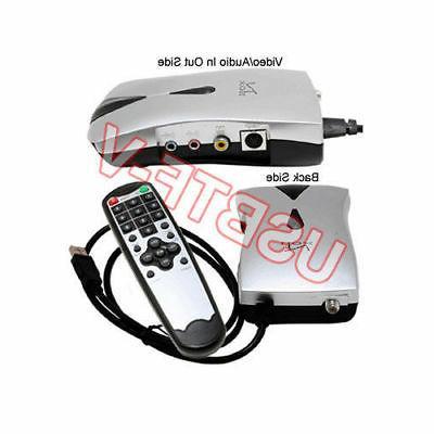 USB-Based TV Tuner + Recorder Vista