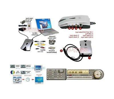 USB-Based Tuner + USB Video Recorder Vista