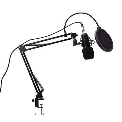 USB Microphone Mic Kit Stand for Recording