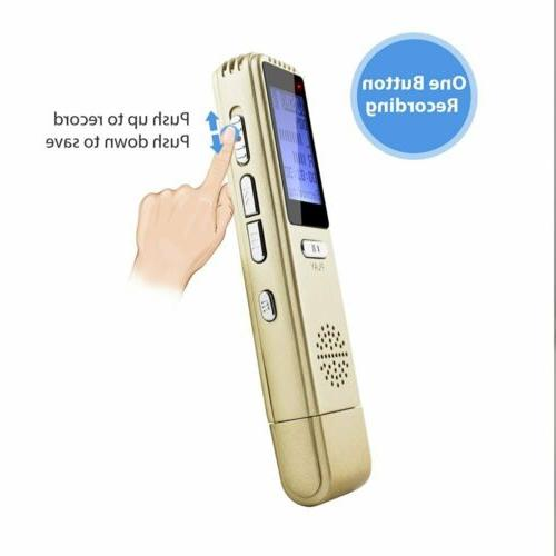 USB Recorder MAOZUA Digital Lectures Rechargeable