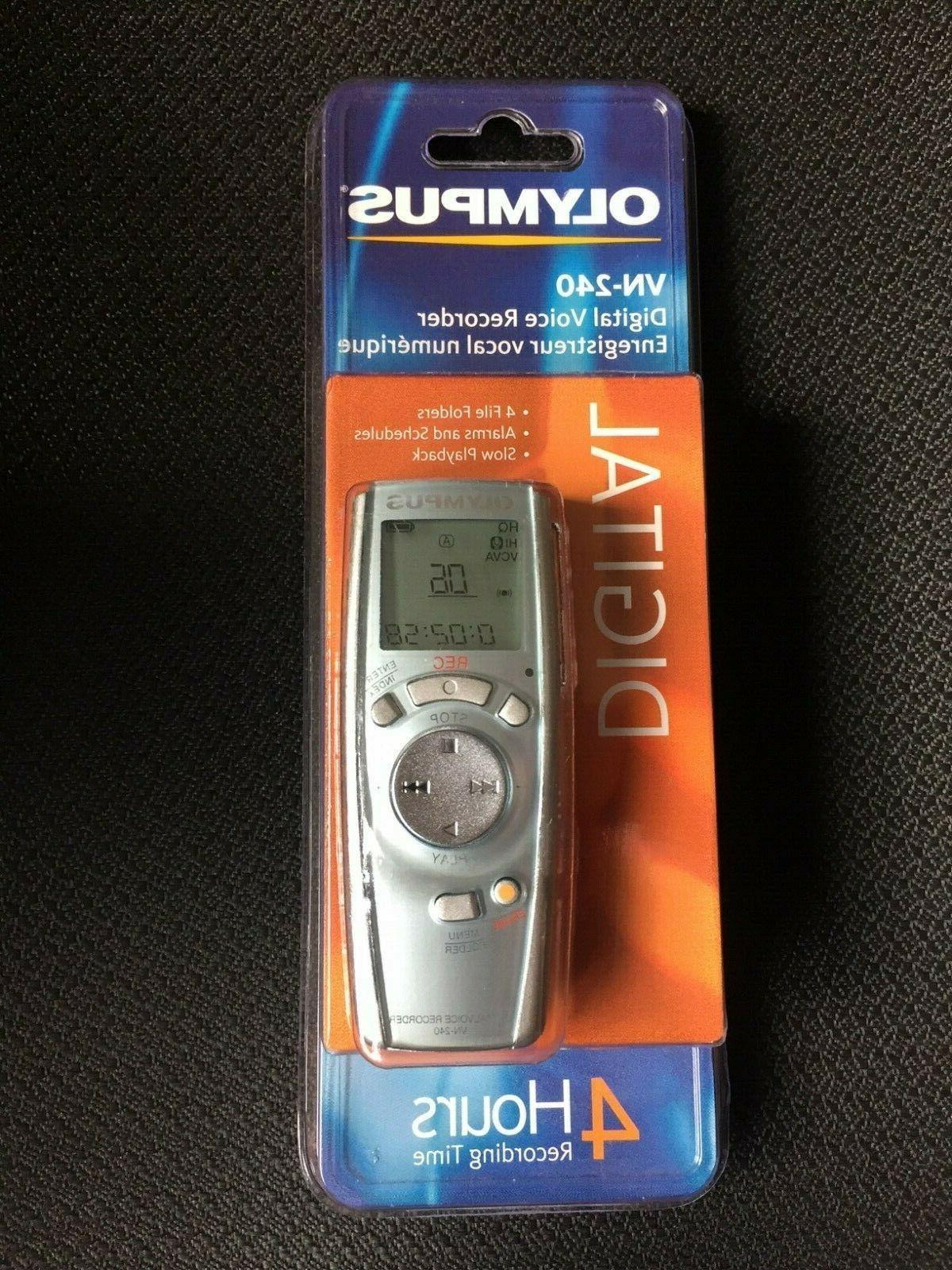 vn 240 digital voice recorder mpn 141722