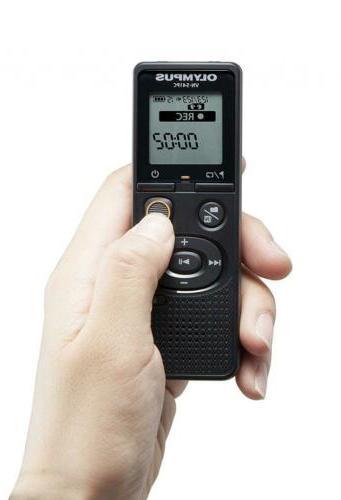 Olympus VN-541PC Link 4GB Black Voice Recorder