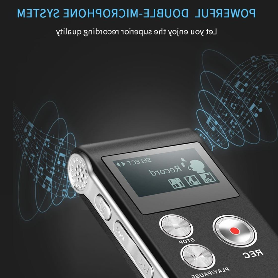 Digital Recorder Dictaphone Audio Recorder Small