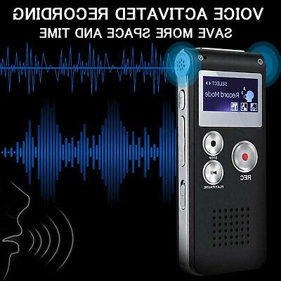 Digital Sound Audio Recording Recorder Player Lecture 8GB
