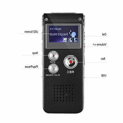 Digital Sound Recorder Small Handheld Audio