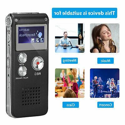 Digital Mini Spy Sound Handheld Audio Recording