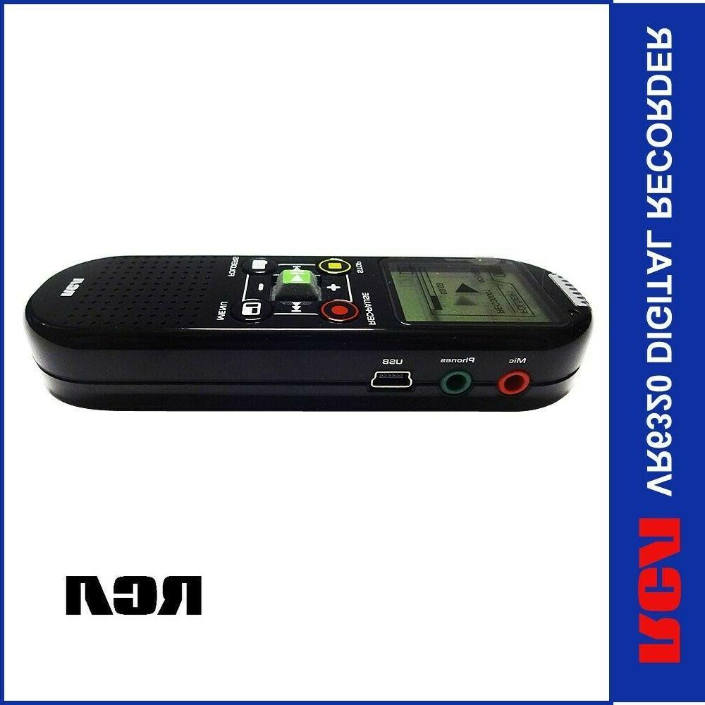 RCA VR6320 Digital Voice Recorder