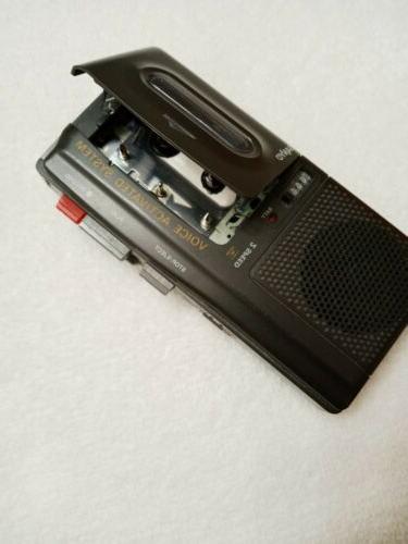Vtg 2 Microcassette Voice Activated # M-5599 NOS