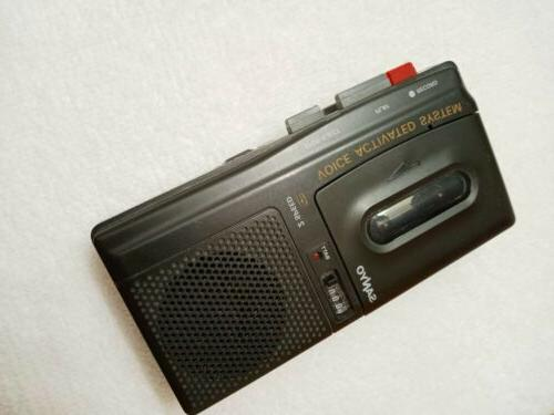 Vtg Speed Microcassette Recorder Voice Activated #