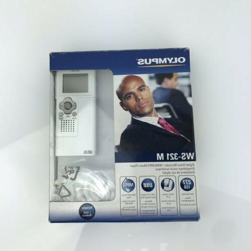 ws 321m digital voice recorder and wma