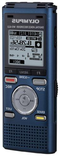Olympus Blue Voice Recorders with GB Built-In-Memory
