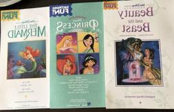 Lot Of 3 Disney Princess Recorder Songbooks