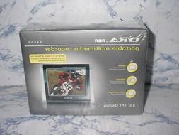 "RCA LYRA X2400 3.5""LCD DIGITAL VIDEO RECORDER AV INPUT AUDIO"