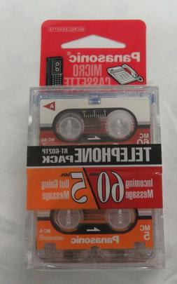 Panasonic Micro Cassette Tape for Answer Machine Dictation R