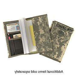 RAINE Military Leader Book Cover fits 5 1/2 x 8 Inch Log Rec