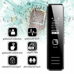 Mini Digital Sound Voice Recorder 32GB Rechargeable Dictapho