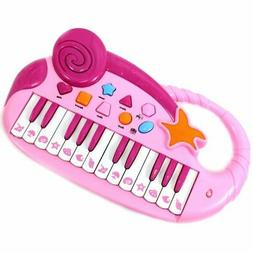 Musical Fun Electronic Piano Keyboard For Kids With Record &