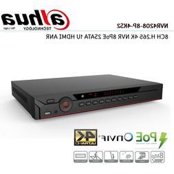 *NEW* Dahua NVR4208-8P-4KS2 8 CH 8PoE Network Video Recorder