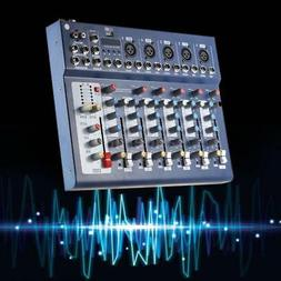 New F7-USB 7-Channel Mixer Console with USB Interface for DJ