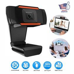 NEW HD Webcam PC Digital USB Camera Video Recording with Mic