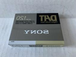 New Old Stock SEALED Sony DAT Audio Tape DT-120Rn DT 120 RN