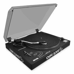 New Pyle Record Player Turntable Vinyl to Digital MP3 With R