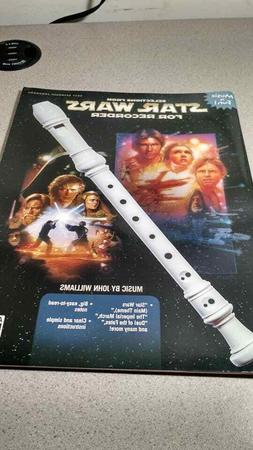 New Recorder Song Book Star Wars 7 Songs