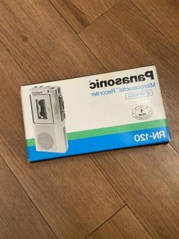 new vintage microcassette recorder 2 speed model
