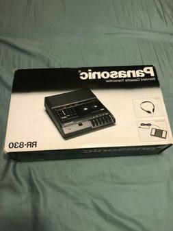 NEW Vintage Panasonic RR-830 Desktop Cassette Transcriber /