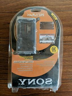 NEW VTG SONY Pressman Microcassette Recorder M-450 Plus MC-3