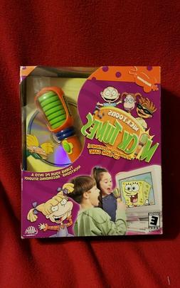 NICKTOONS NICK TUNES PC-POWERED MICROPHONE CD-ROM GAME RECOR