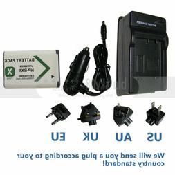NP-BX1 Rechargeable Battery Pack + Charger for Sony HDR-MV1