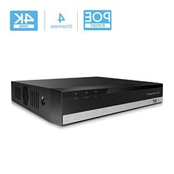 Amcrest NV2104E-HS 4CH PoE NVR 4K/6MP/5MP/4MP/3MP/1080P Netw