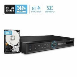 nv5232 32ch channel 4k hdmi network video