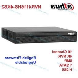 Dahua NVR4116HS-4KS2 16 Channel 1U 4K H.265 Network Video Re