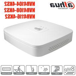 Dahua NVR41XX-4KS2 4/8/16 Channel Smart 4K&H.265 Lite Networ