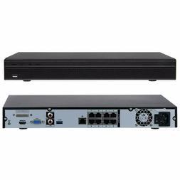 Dahua OEM 4K 8ch NVR4208-8P-4KS2 PoE H.265 HDMI 2SATA P2P Ne