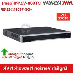 Hikvision OEM 8CH 4K DS-7608NI-I2/8P 8POE H.265 Security Net
