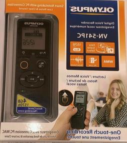 One-touch recording Olympus Digital Voice Recorder VN-541PC