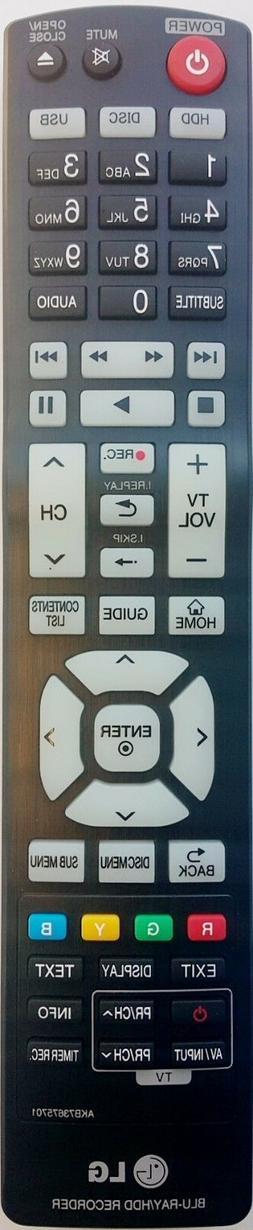Original LG Remote Control  AKB73675701 - BR629T BR625T BLU-