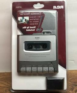 RCA Personal Portable Cassette Tape Player Recorder Stand Up