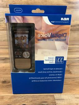 RCA Pocket Digital Voice Recorder with Camera Voice Activate