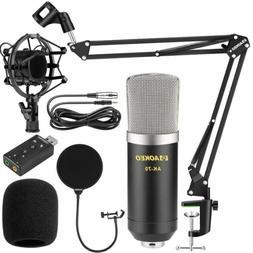 Podcasting Mic Set Microphone Voice Recording YouTube Live S