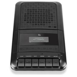 GPX Portable Cassette Tape Player Recorder with Built-in Mic