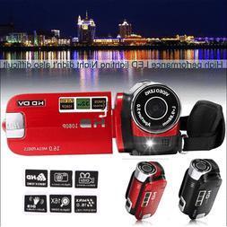 Portable Full HD 1080P 16X Zoom Digital Video Camera DV Camc
