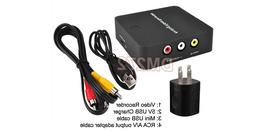 Premium Mini RCA Video Audio Recorder With HDMI RCA Output