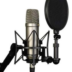 PROFESSIONAL Audio Condenser Microphone Kit Vocal Studio Rec