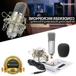 3.5mm USB Podcast Studio Pro Condenser Microphone Recording