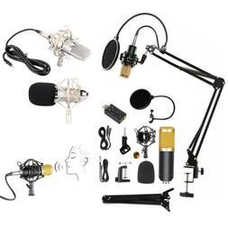 Professional Studio Condenser Microphone Kit Recording Broad
