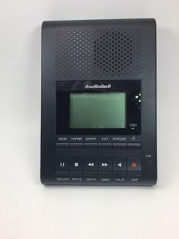 Radio Shack Desktop Digital Recorder Model 1400214 w/AC Powe